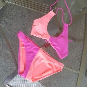 Raisins dual color bikini